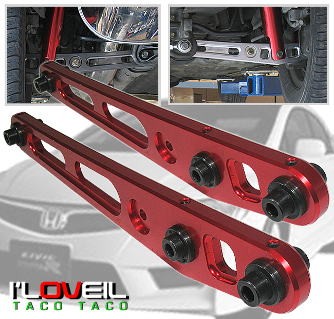 Dme Suspension Rear Lower Control Arms For 1998 Honda Civic: 1996 2000 Honda Civic EX DX LX SI EK Pair Of Rear Lower